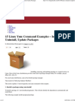 Yum Command Examples – Install, Uninstall, Update Packages