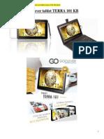 GoClever Tablet TERRA 101-Specifikacije i Slika