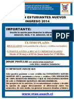 Afiche Postulación Crédito Compl 2014_REZ Y POST MARZO
