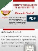 Planes de Control