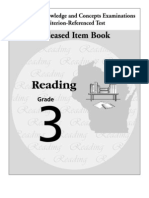 3rd grade criterion test