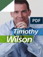 Tim Wilson - Creating Wealth