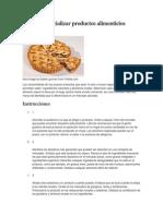 Cómo Comercializar Productos Alimenticios Caseros (1)