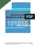 Ứng Dụng Matlab Mô Phong Mạch Điện Điện Tử - Trần Thu Hà & Hồ Đắc Lộc