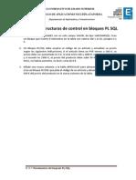 Práctica II. Estructuras de Control en Bloques PL SQL