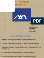 The AXA Way – Improving Quality of Services