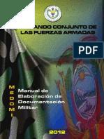 Manual de Elaboración de Documentación Militar 2012 Sin Clave