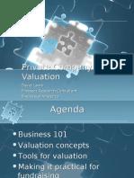 Private Company Valuation