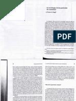 04 - François de Singly - La Sociología, Forma Particular de Conciencia