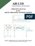 BM DF 3000 Complete Manual