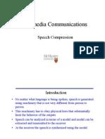 Speech Compression