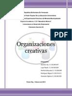 Las Organizaciones Creativas