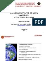 Calderas de Vapor - Modulo 2.1 Conceptos Basicos
