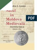 Alexandru I. Gonţa - Satul în Moldova Medievală - INSTITUŢIILE