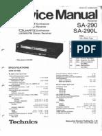 Technics SA290 Rec