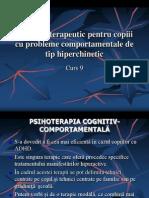 Program Terapeutic Pentru ADHD_Curs 9