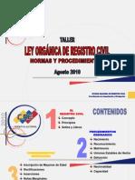 Taller de Normas y Procedimientos Del r.c.