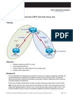 Ccnpv6 Route Lab3-2 Multi Area Ospf Student