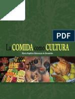 LIVRO La Comida Como Cultura