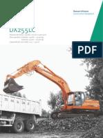 Excavadora hidráulica DOOSAN DX255LC