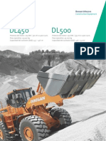 Cargadoras sobre neumáticos DOOSAN DL450 / DL500