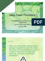 07 Other Plastics