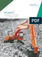 Excavadora hidráulica DOOSAN DX340LC