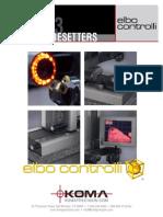Elbo Controlli Tool Presetters - Catalog