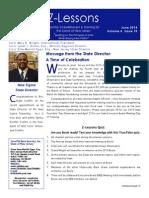 Z-Lessons June 2014