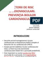 FACT. RISC CV. Preventia Maladiilor CV