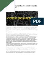 O Que o Neymar Fez Foi Uma Tremenda Imbecilidade - FONTE, Site Revista Fórum (Por Por Igor Carvalho)