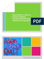 Asian Women's Quilt