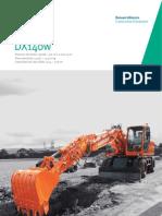 Excavadora hidráulica DOOSAN DX140w