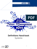TM Process Definitions Handbook