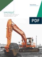 Excavadora hidráulica DOOSAN DX225LC