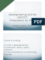 3. geoengeneering & UNFCCC