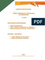 Desafio Profissional a1 2014 1 Tmk1 Empreendedorismo Dpp e Etica