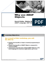 Why Use ABAP Object by Horst Keller