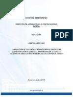 3258408@Bases Licitacion Ampliacion 12 Canchas Polideportivas