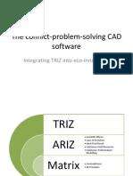 Conflinct problem solving CAD software