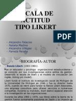 Escalamiento TIPO LIKERT- Final