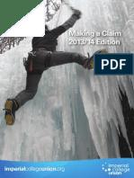 Making a Claim 2013 v1.1