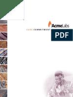 Acme Price Brochure