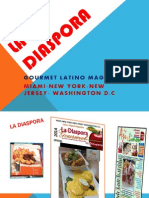 La Diaspora Magazine Power Point.