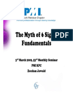 The Myth of 6 Sigma Fundamentals