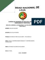 Carrera de Ingenieria en Geologia Ambiental y Ordenamiento Territorial