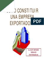 Como Formar Una Exitosa Empresa Exportadora