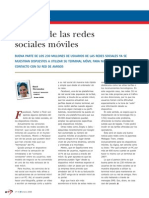 redes sociales moviles