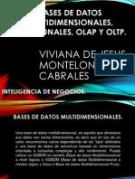 Bases de Datos Multidimensionales, Relacionales, Olap
