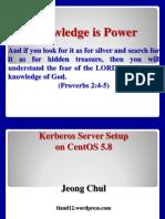 Kerberos Server Centos58